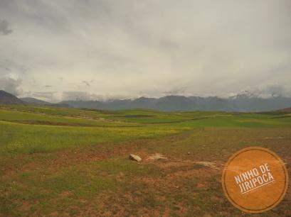 Paisagem no tour a partir de Cusco no periodo chuvoso