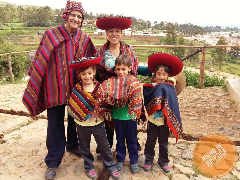 Produção de Tecidos em Chinchero no Peru