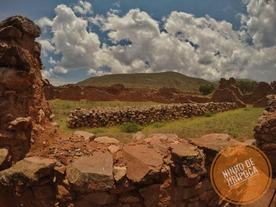 Ruinas pre incas de Pikilaqta em Cusco