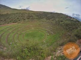 Ruinas Incas de Moray no Peru