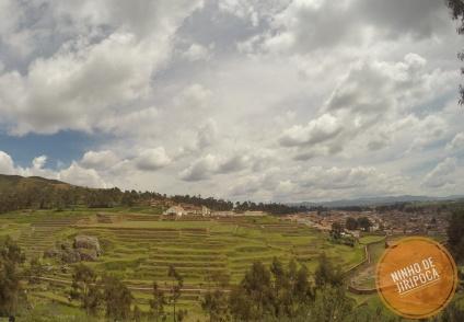 Vista do Valle Sagrado dos Incas