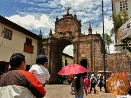 Arco Santa Clara em Cusco