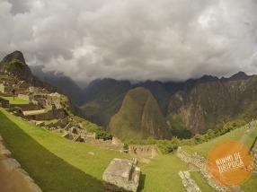 Machu Picchu com crianças