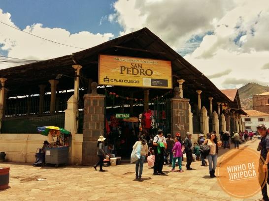 Mercado San Pedro em Cusco