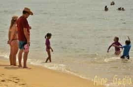 Paraty Mirim com crianças