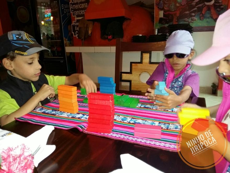 Restaurante em Machu Picchu Pueblo com crianças