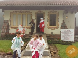Casa do Papai Noel na Aldeia do Papai Noel em Gramado