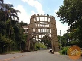 Portico de entrada de Bento Gonçalves