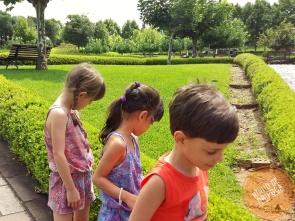 Vinicola Miolo com crianças em Bento Gonçalves