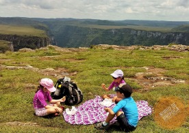 canion-fortaleza-crianças-picnic